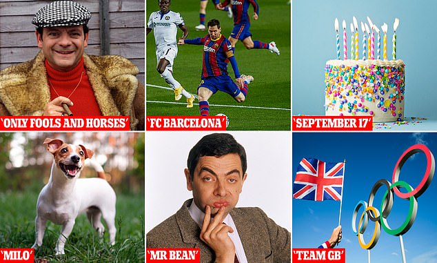 FromOnly Fools and Horses to FC Barcelona, here are some of the worst password choices, according tocybersecurity firm Nexor