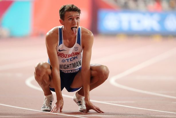 British captain Jake Wightman led by example by winning the 800m