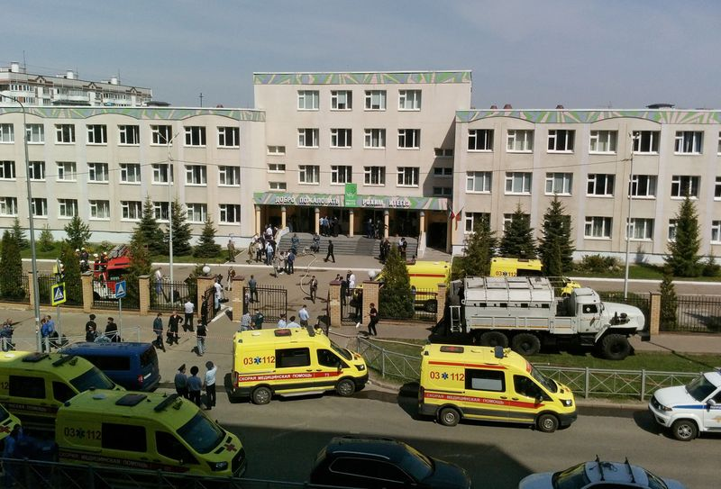 Seven children killed, many wounded in Russian school shooting - regional head