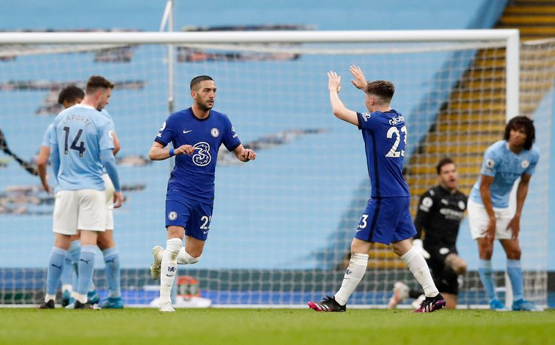 Soccer-Man City made to wait for title by Chelsea, Liverpool boost top-four hopes