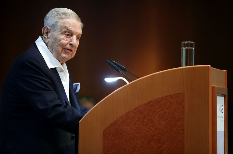 Soros buys stocks linked to Bill Hwang's Archegos collapse - Bloomberg News
