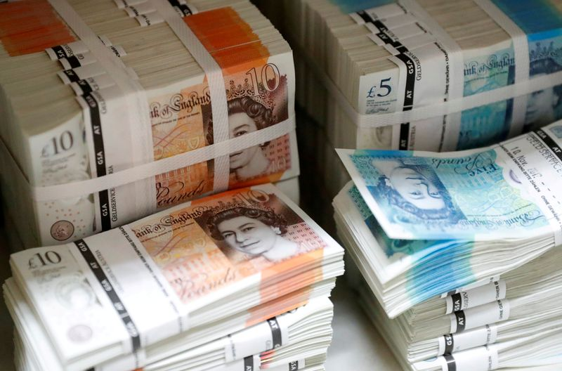 Sterling steadies above $1.40 as stronger dollar weighs