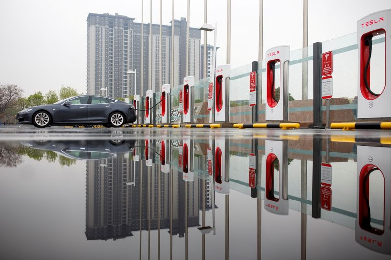 Tesla launches China data centre to store data locally