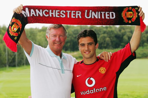 Giuseppe Rossi first joined Manchester United as a teenager