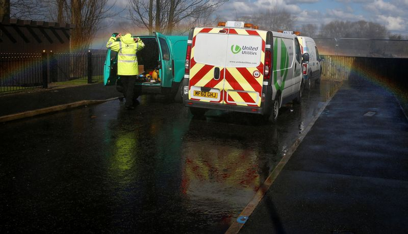 UK water watchdog plans 2.8 billion pound backing for green projects