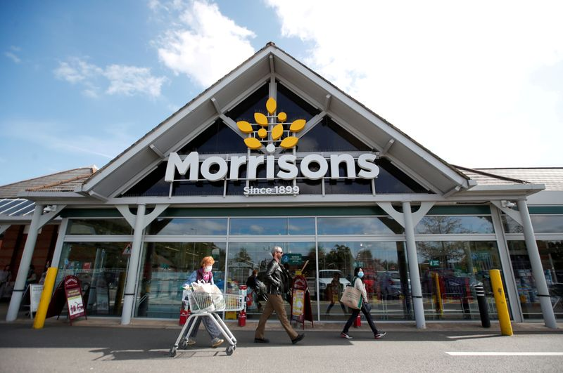 UK's Morrisons' sales growth slows due to tough COVID comparative