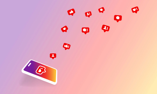 Social media notification icon. Follow, like, new comments symbol. Social networking. Vector on isolated background. EPS 10