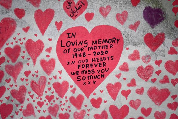 It features messages left by families in memory of lost loved-ones