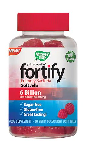 Nature's Way Fortify Probiotic gummies