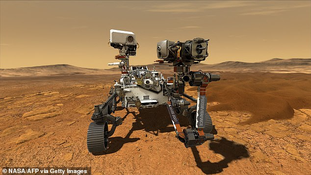 NASA's Curiosity rover landed on Mars on August 6, 2012 after launching on November 26, 2011