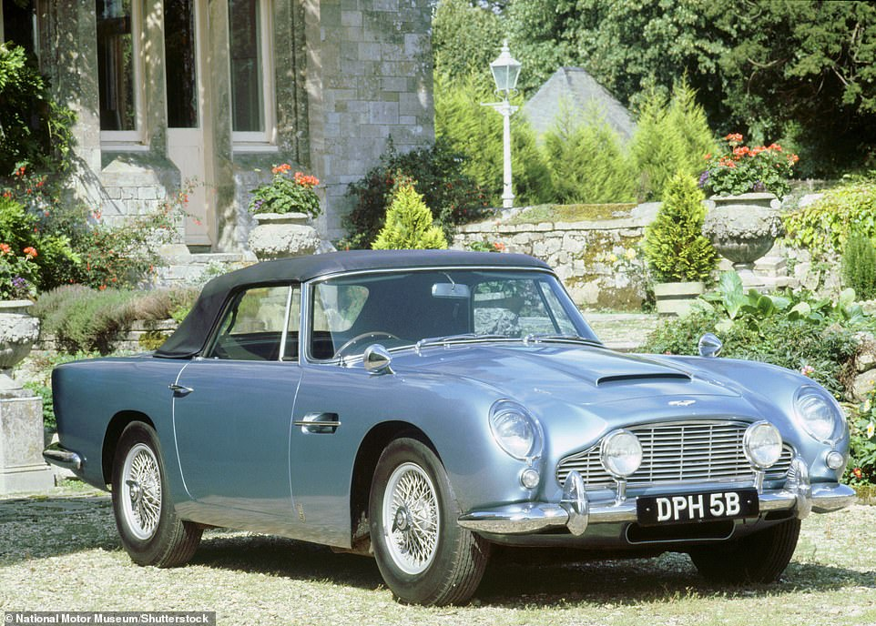 The Aston Martin featured in a display at the National Motoring Museum at Beaulieu for years before the DB5 was passed from Lord Snowdon to his son,Viscount Linley, in 1986 to mark the latter's 25th birthday