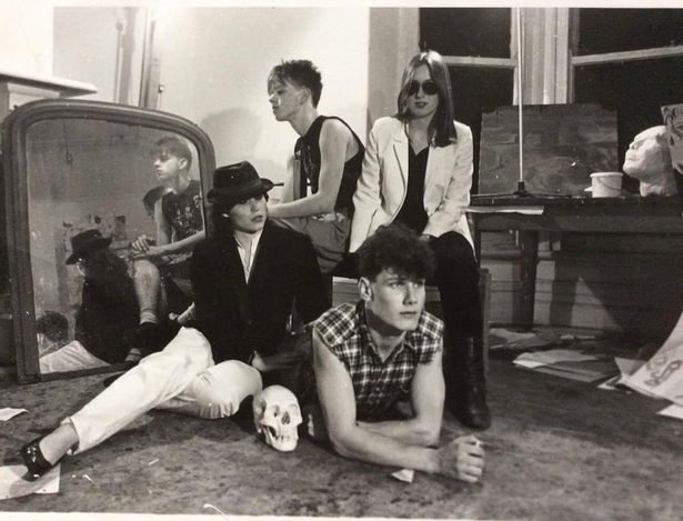 Keir Starmer with his friends at Leeds University in the early 1980s