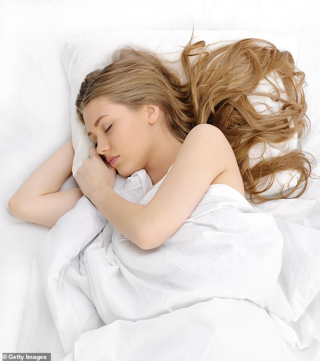 Lack of sleep will make you fatter, but piling on extra fat (particularly around the gut and neck) also means you sleep worse. It is a vicious circle [Stock image]