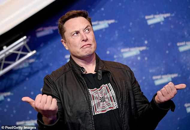 Musk confirmed on Twitter that one of the platforms, named Deimos after the smallest of the two Martian moons, was under construction 'for launch next year'