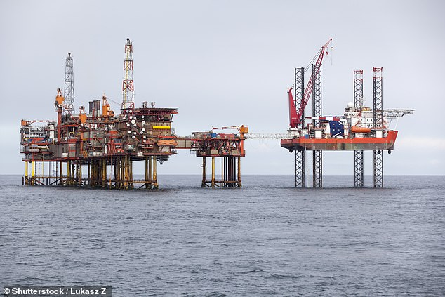 It was reported in January that the firm had acquired a pair of former oil drilling rigs (not these, picture for illustration only) for $3.5 million each