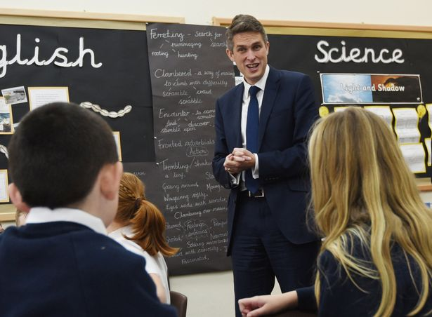 """Gavin Williamson left radical plans to make days half an hour longer out of his """"paltry"""" scheme. But today he insisted they could still happen - just not right now"""
