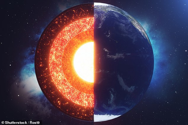 Even though it doesn't leave the core lopsided, this uneven growth rate suggests something in the outer core under Indonesia is removing heat from the inner core at a faster rate than it is under Brazil on the opposite side of the planet, the team said
