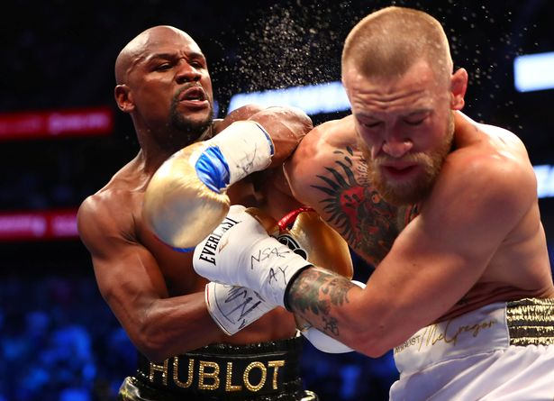 Mayweather defeated McGregor in the pair's August 2017 bout