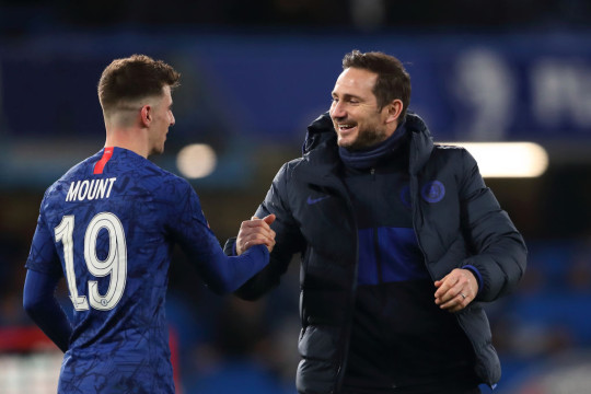 Lampard gave Mount his chance