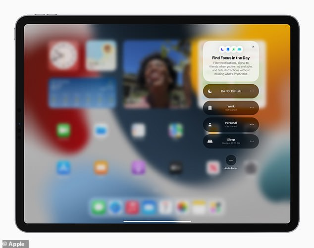 The new operating system will also place widget layouts directly on the Home Screen