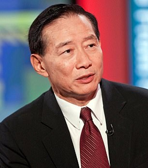 In firing line: Peterr Wong has overseen a period of protest at HSBC