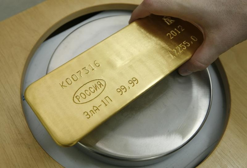 Gold Down, but Above $1,800-Mark, Over Fed Taper Uncertainty