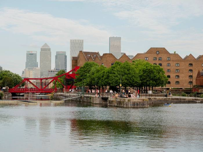 Wapping today, where Deyan Sudjic lived in the 1980s