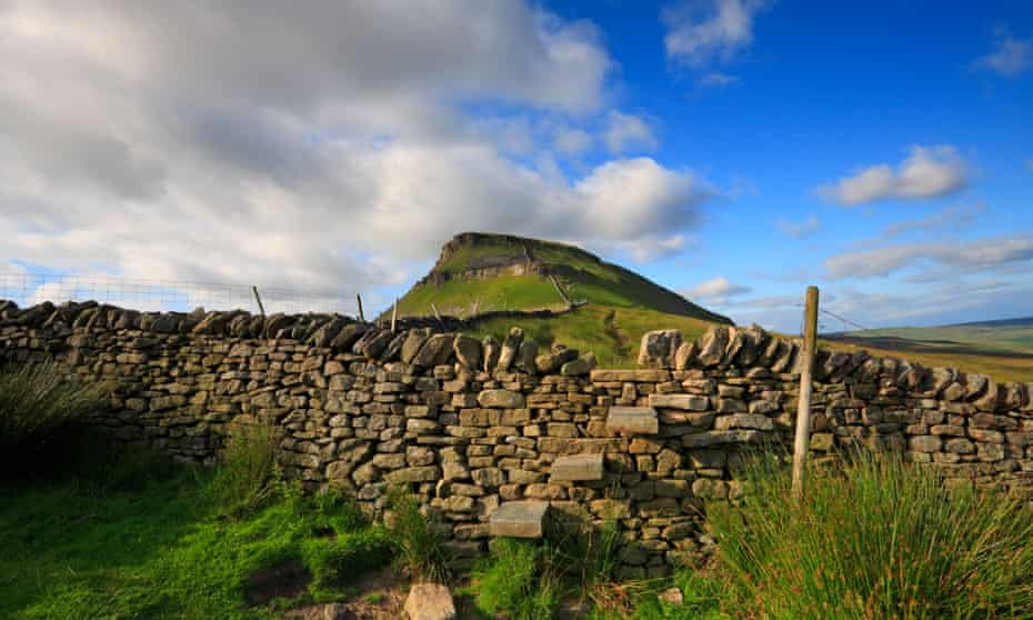 A stile near Pen-y-ghent, North Yorkshire, on the Pennine Way.