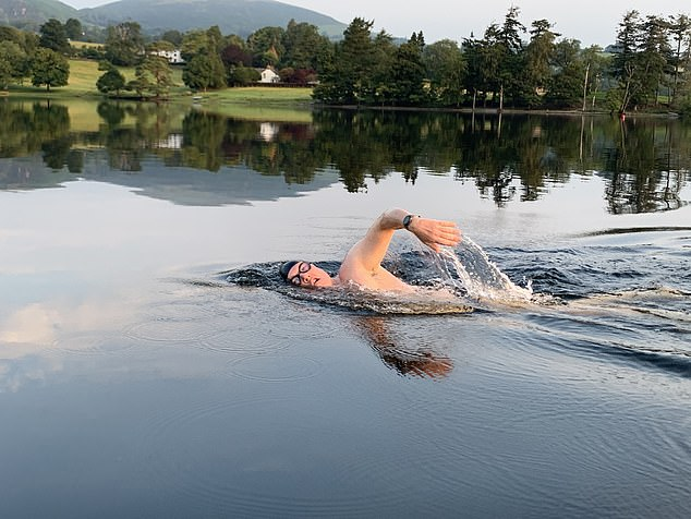 You'll be guided by endurance swimmer Colin Hill, who helps guests of all abilities through a range of aquatic activities