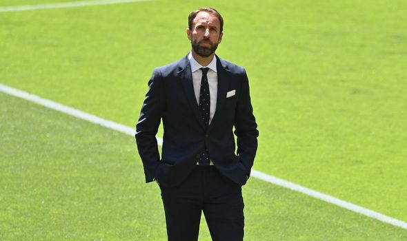 Southgate is leading England into his first Euros.