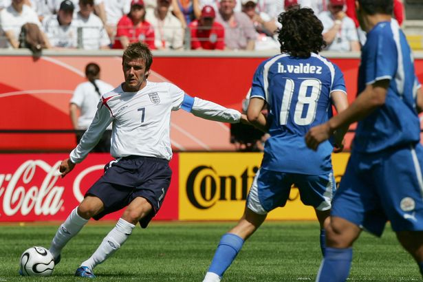 England edged out Paraguay in their World Cup 2006 opener