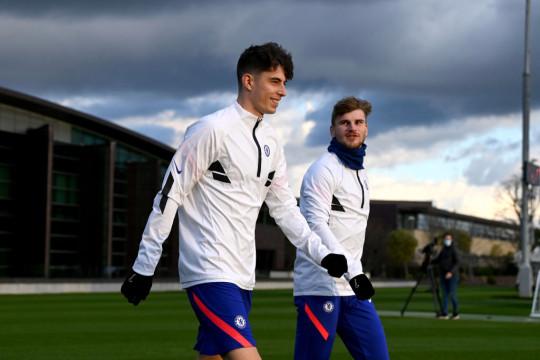 Fabregas believes there is more to come from Werner and Havertz