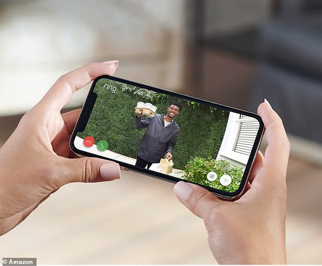 A great way to ensure you never miss a delivery; when someone presses the doorbell, you'll receive a notification via the smartphone app, and you'll be able to connect to a real-time live view