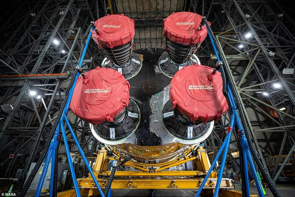 SLS will launch for the first time in November this year, sending the Orion capsule on an uncrewed jaunt around the moon as part of the first Artemis mission