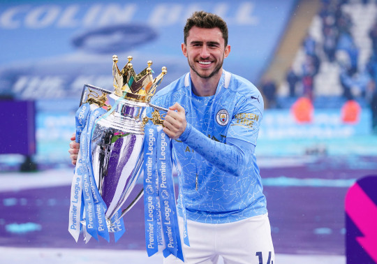 Manchester City centre-back Aymeric Laporte is on Real Madrid's shortlist
