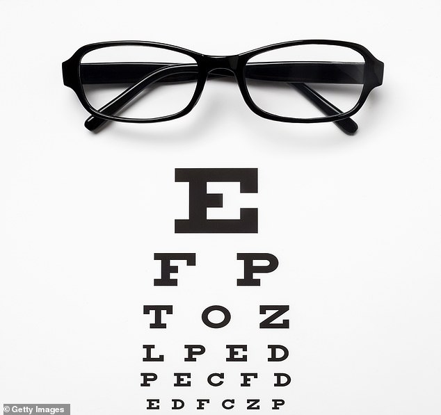 Dr Emer MacSweeney says: 'I make sure I have an eye test at least once a year. And if you think you might need glasses, you should see your optician'