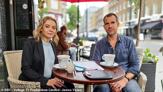 As a medical doctor and researcher who tried living on UPFs as a human guinea pig for my recent BBC documentary What Are We Feeding Our Kids?, I know the physical and mental harm they wreak. Pictured: Professor Rachel Batterham and Dr Chris van Tulleken on the documentary