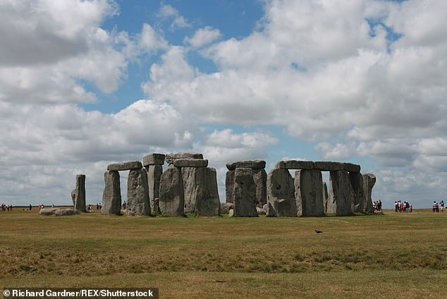 It consists of seven rings of palisades, ditches and raised banks that would once have held wooden posts. The site has been compared to Stonehenge in Wiltshire (pictured)