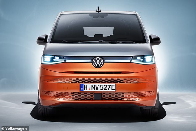 The switch to a more conventional car platform sees the Multivan get plug-in hybrid technology
