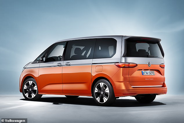 The T7 Multivan uses VW's car-focused MQB platform. The Caravelle it replaces shared its chassis with the Transporter van
