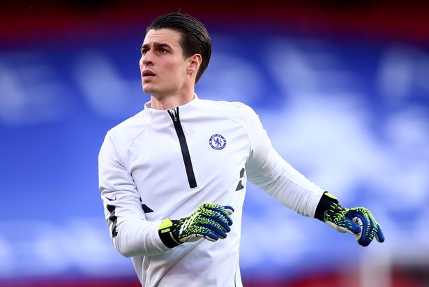 Kepa Arrizabalaga could leave Chelsea this summer after losing his spot as first choice
