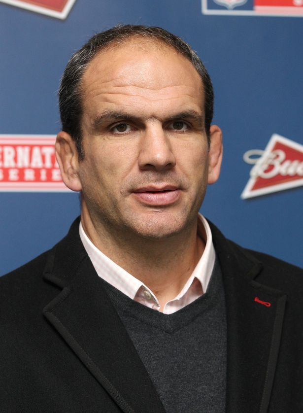 Martin Johnson attends as Detroit Lions take on Atlanta Falcons in an NFL game at Wembley Stadium on October 26, 2014 in London, England