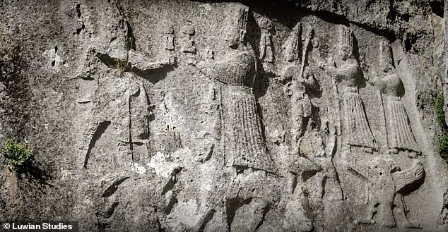 Reliefs of deities carved into the walls ofYazılıkaya date back some 3,200 years. Archaeologists have determined the figures operated as an ancient calendar as well as a map of the cosmos as the Hittites saw it