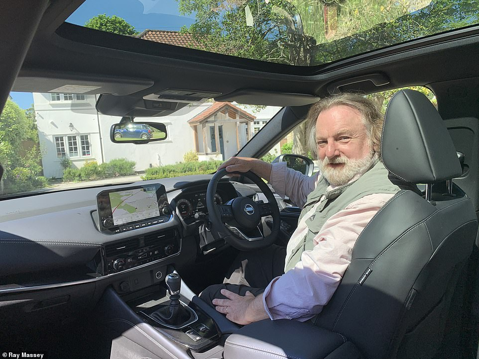 With the light flooding in from the panoramic sun roof, which made for a 'light and airy feel to the drive', Ray Massey casts his verdict on the new model