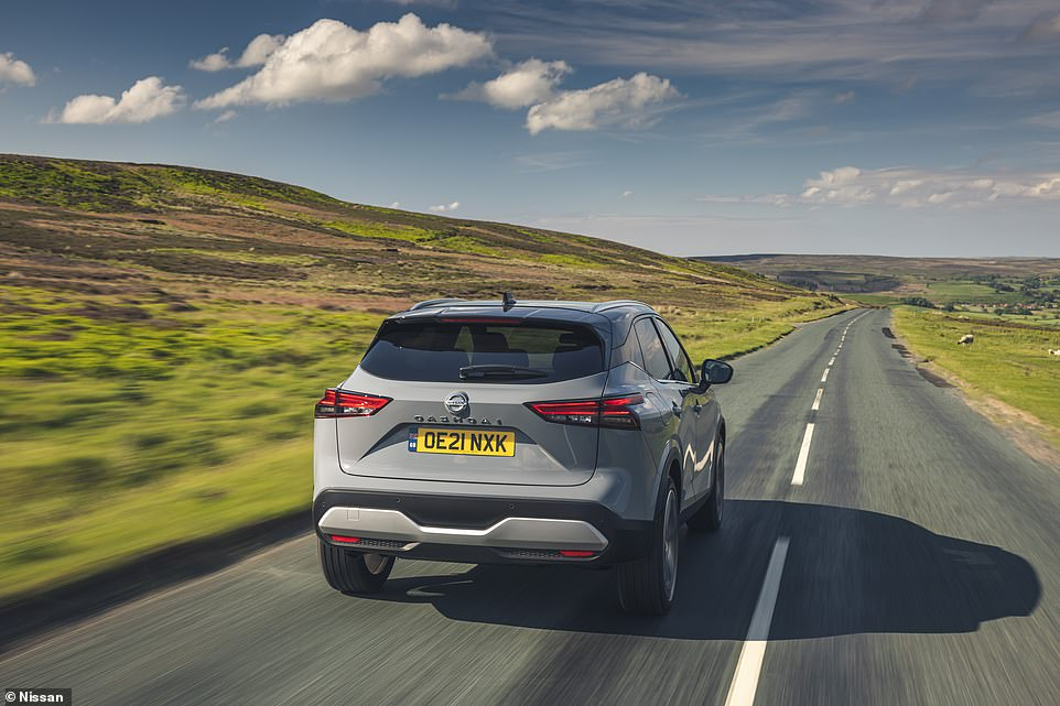 Coasting along at a decent pace, it's clear that Nissan has prioritised practicality and convenience over scintilating performance