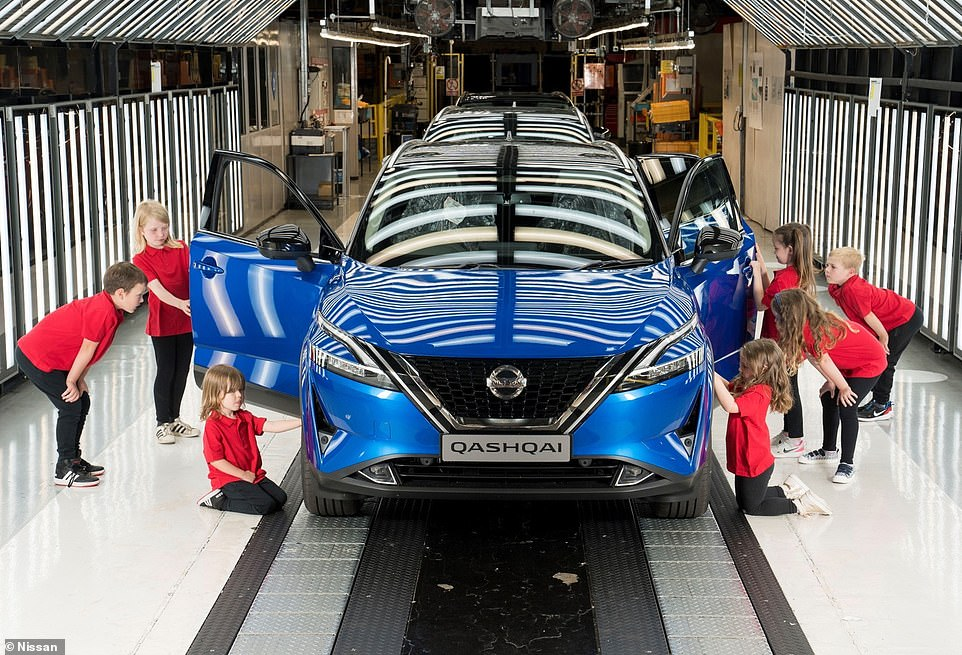 The event waspart of Nissan's Skills Foundation ¿ the company's programme of activities designed to excite youngsters about careers in manufacturing and engineering