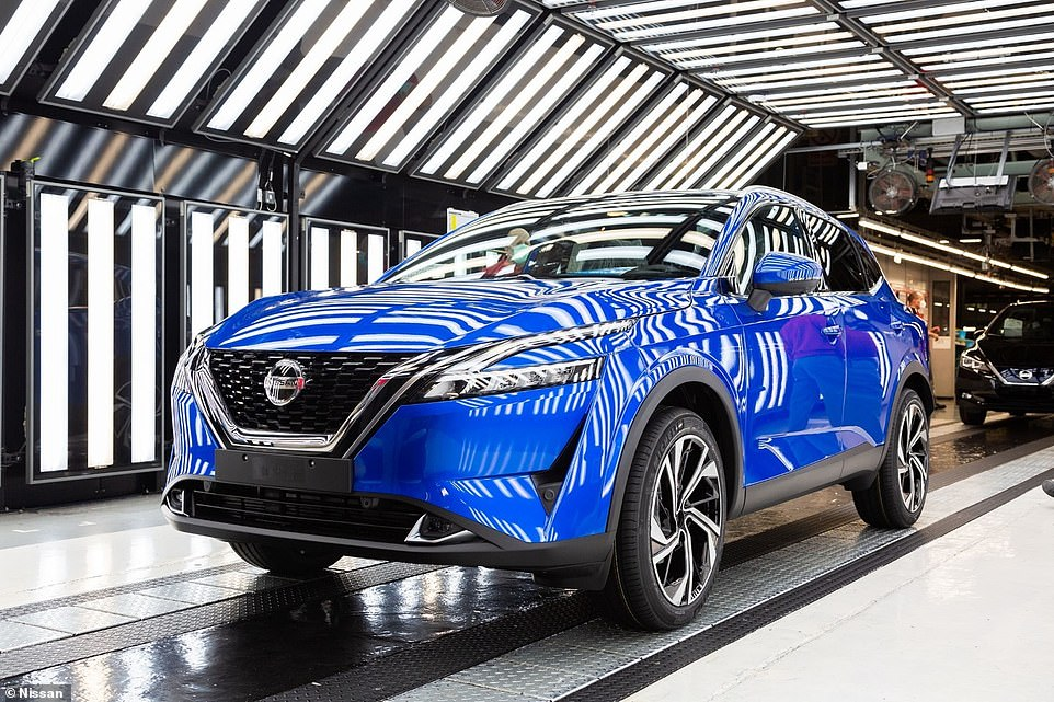 The Qashqai has been described as the automotive vote of confidence in Britain and the North East workforce making it