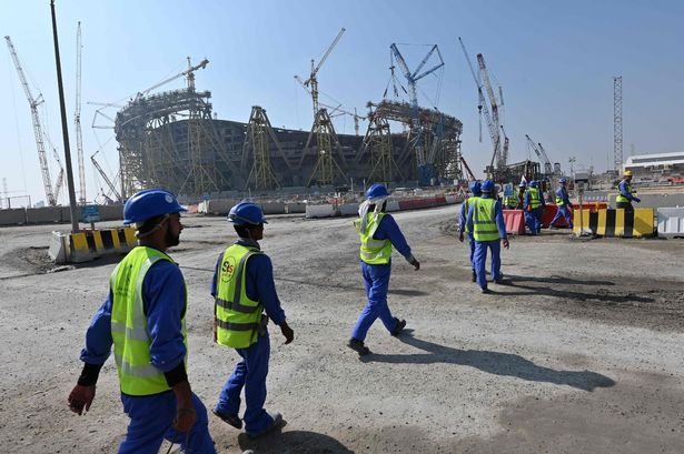 Many of the migrant workers who have died were working on World Cup stadiums and projects
