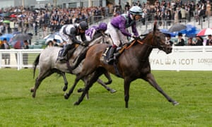 Alcohol Free and Oisin Murphy win the Coronation Stakes.