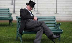 The action at Ascot is clearly scintillating.